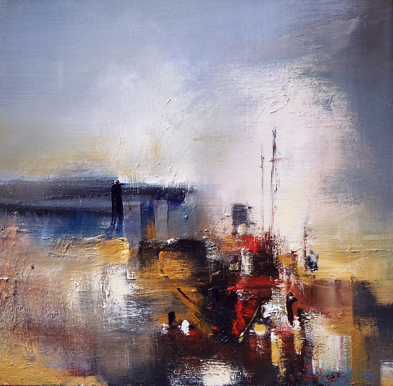 'Lingering at The Harbour' by artist Rosanne Barr