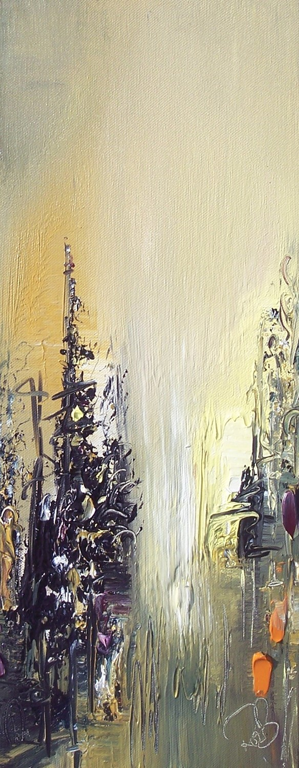 'Pale Light' by artist Rosanne Barr