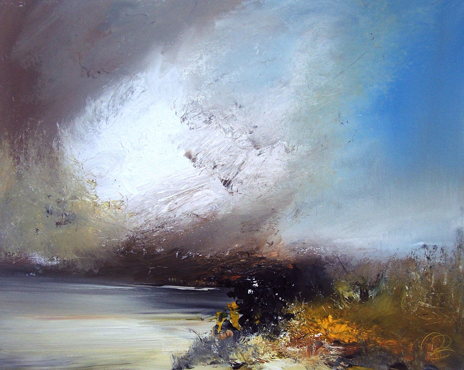 'Swelling Clouds' by artist Rosanne Barr