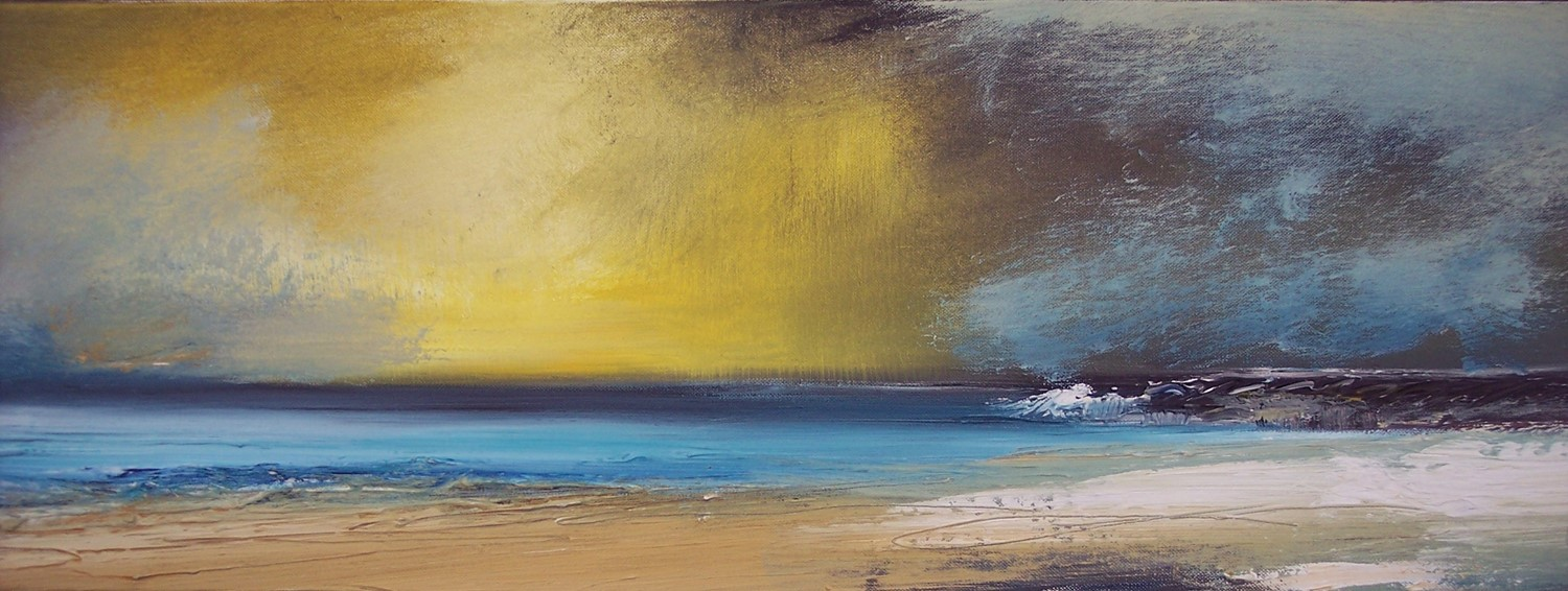 'Golden Skies' by artist Rosanne Barr