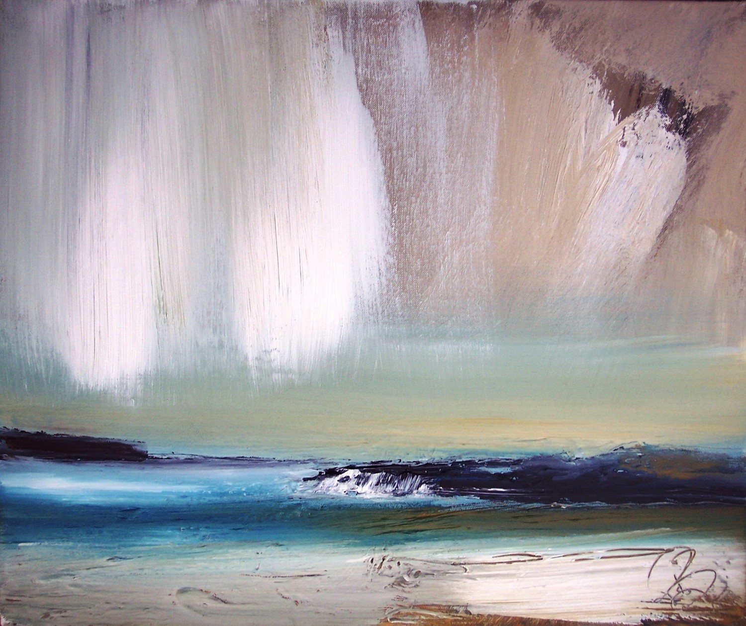 'Cool Bay' by artist Rosanne Barr