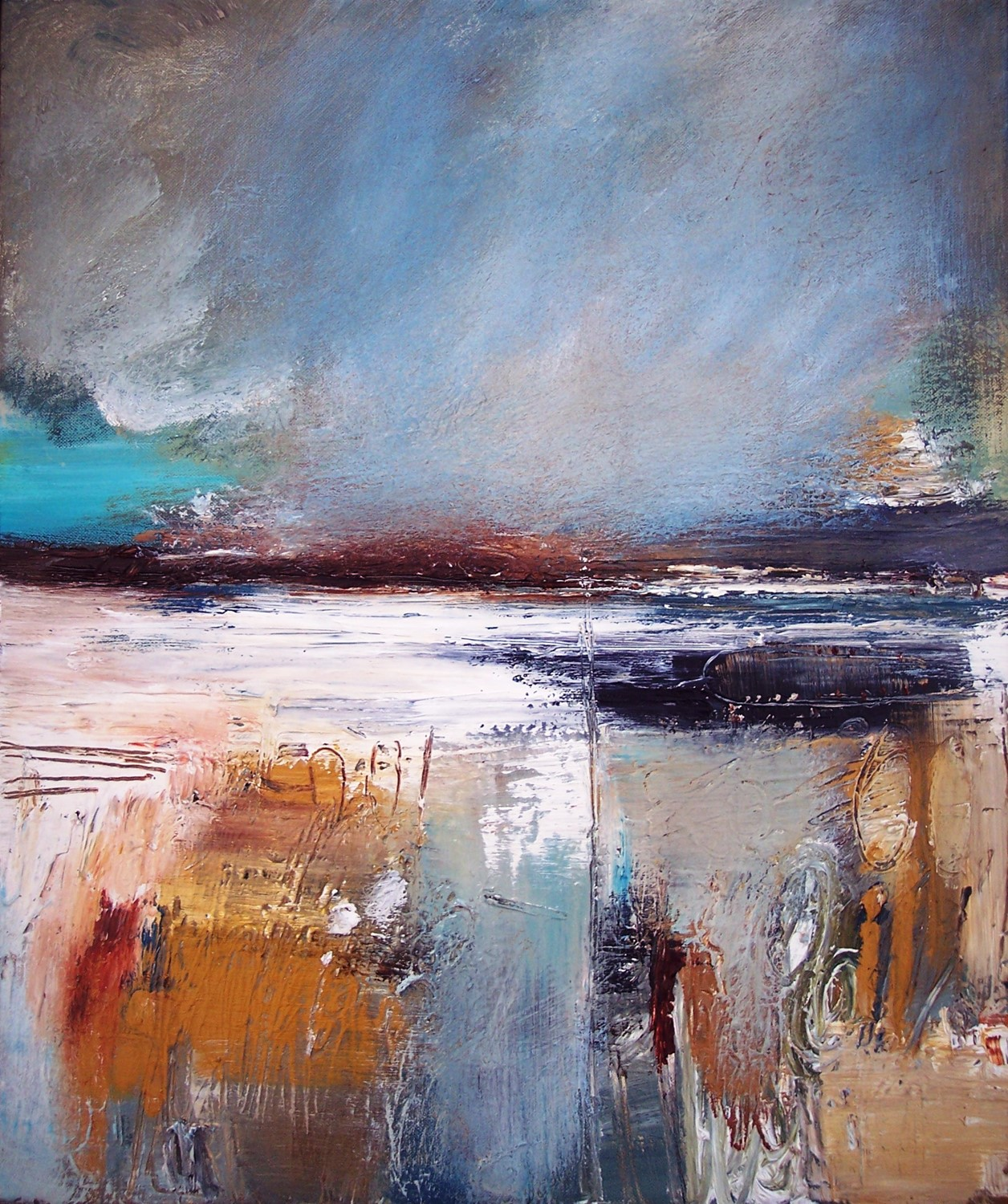 'Shades of Seashore' by artist Rosanne Barr