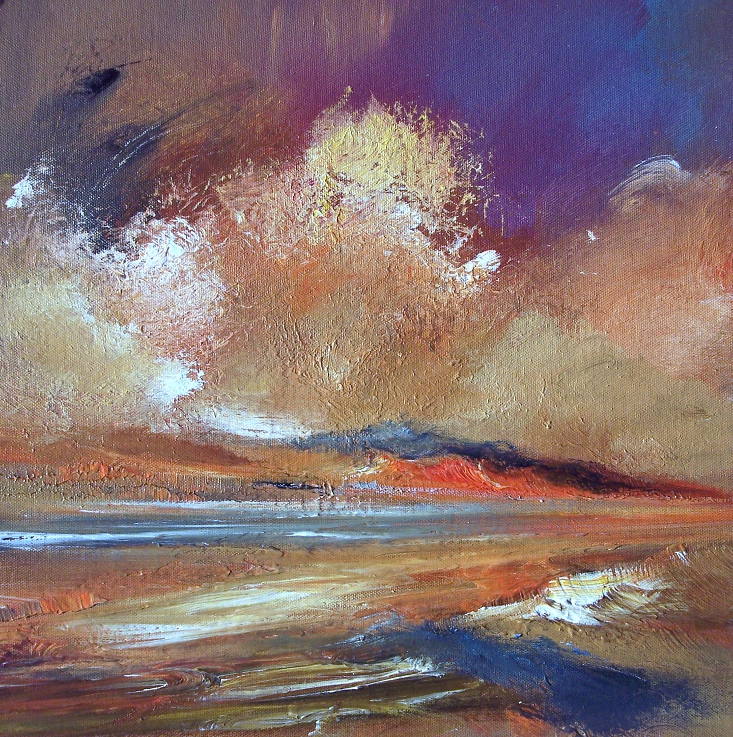 'Edging into Night' by artist Rosanne Barr