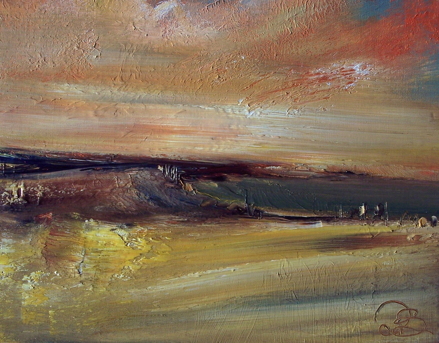 'Fading View' by artist Rosanne Barr