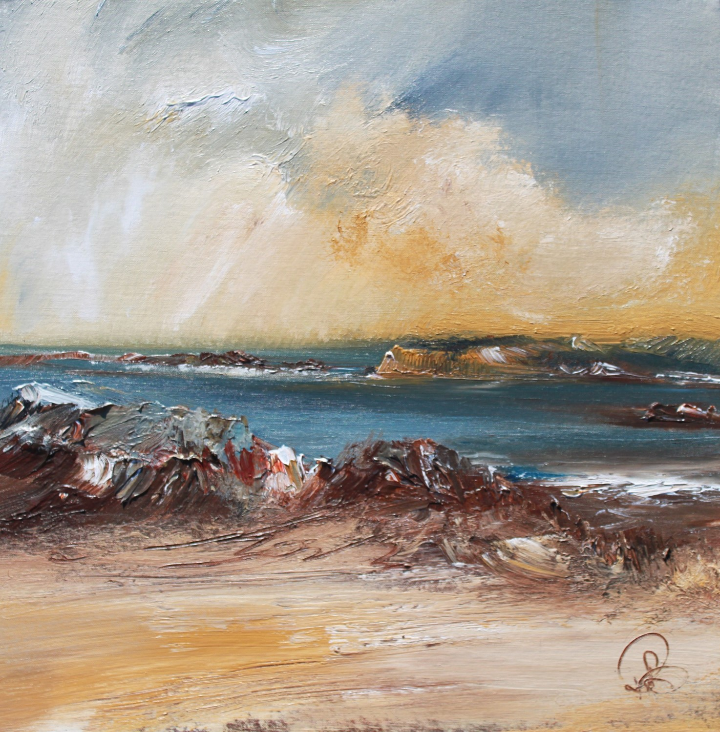 'Skyscape' by artist Rosanne Barr