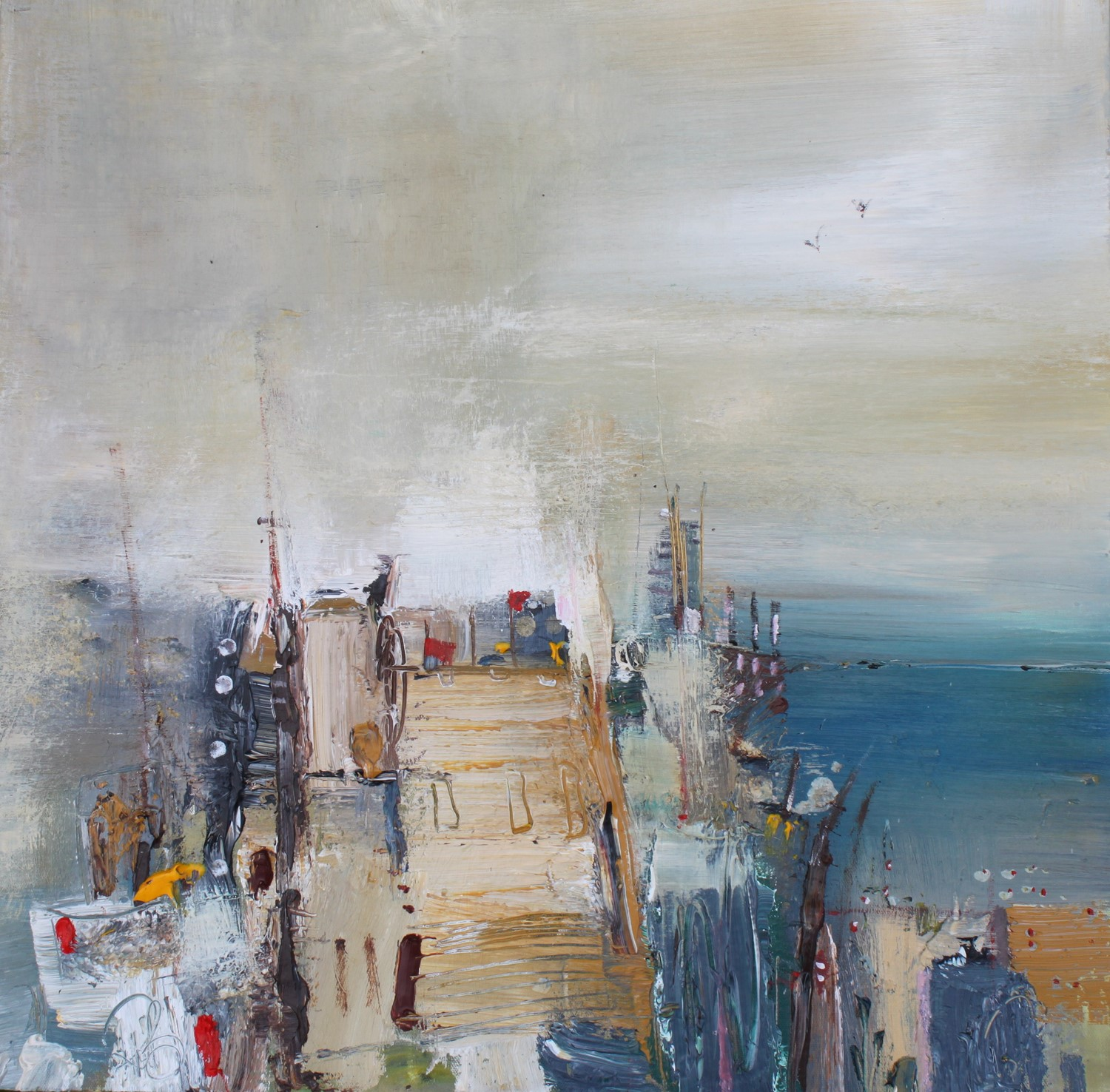 'Coastal Castle' by artist Rosanne Barr