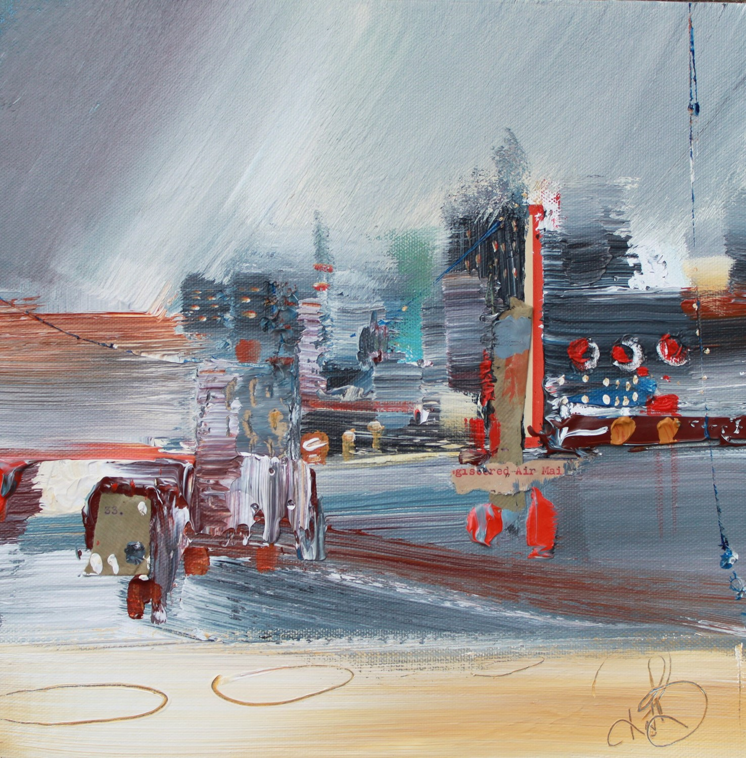 'City Quay' by artist Rosanne Barr