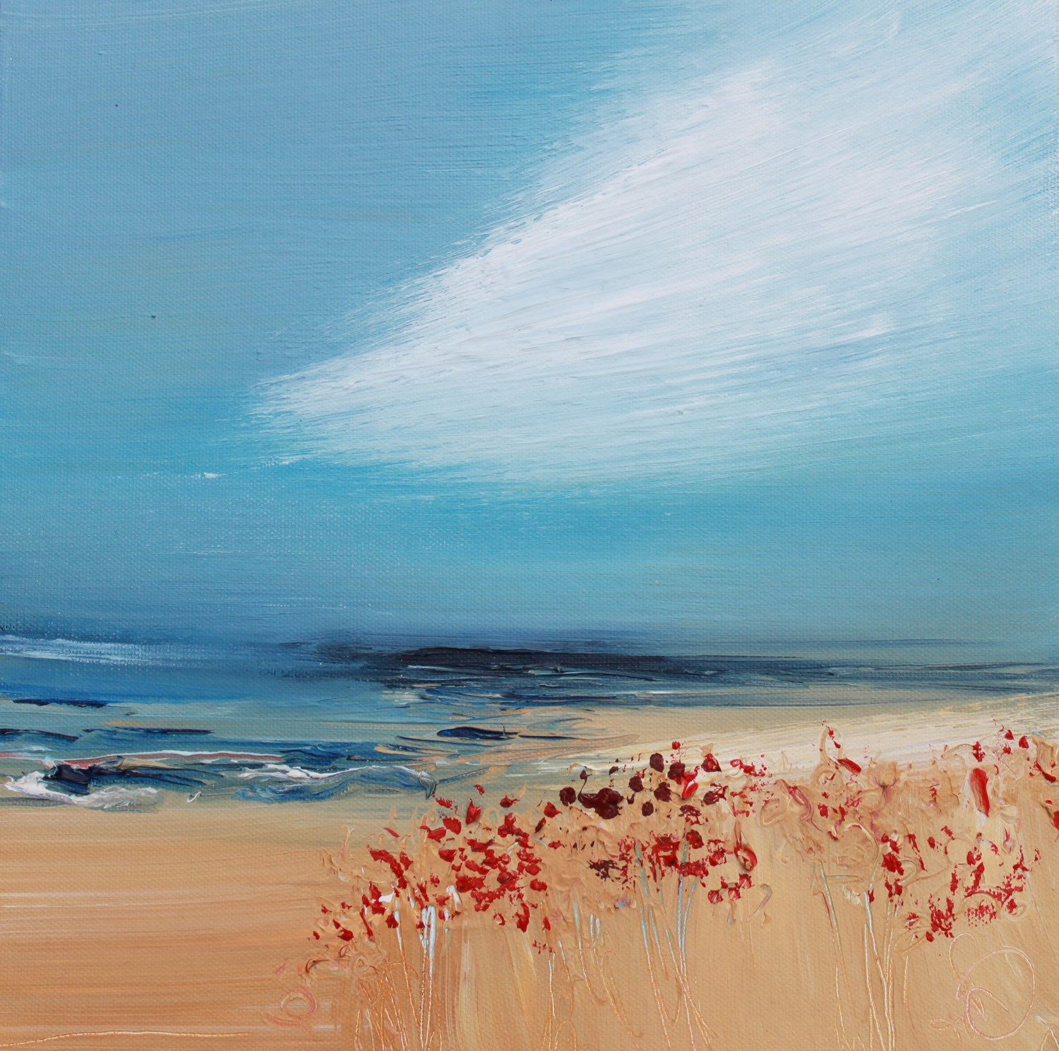 'Blustery Day' by artist Rosanne Barr