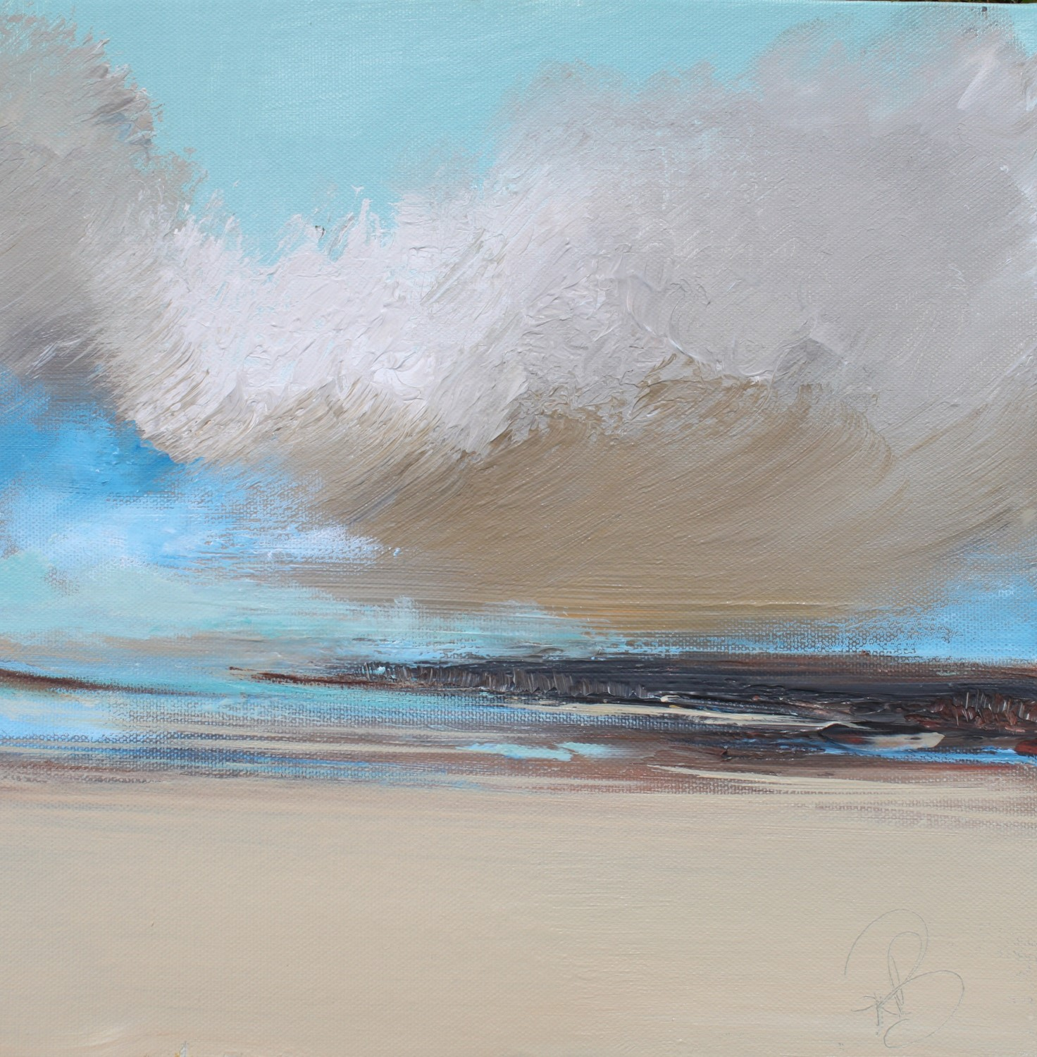 'Cloud Bay' by artist Rosanne Barr