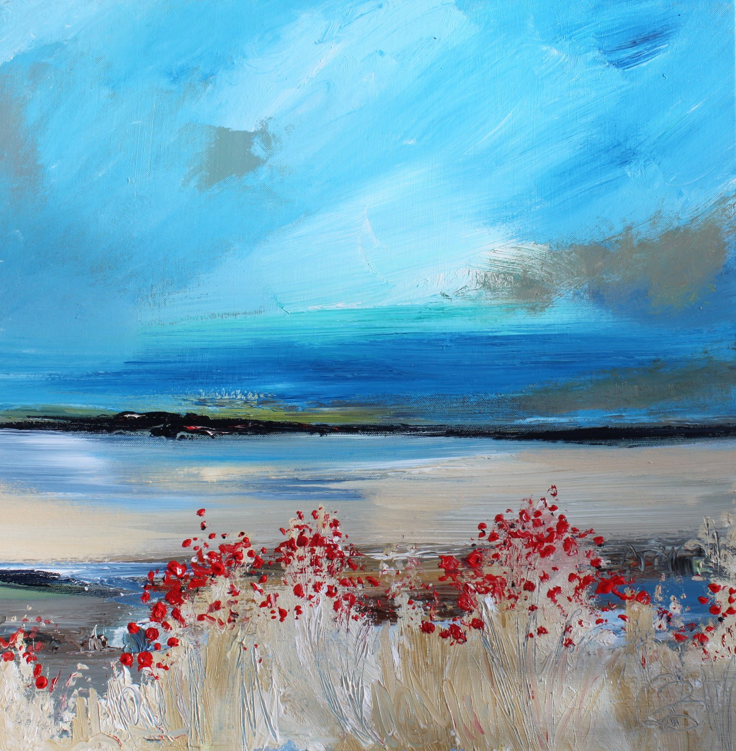 'Summer Seas' by artist Rosanne Barr