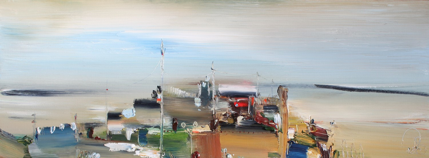 'Awaiting the Catch' by artist Rosanne Barr