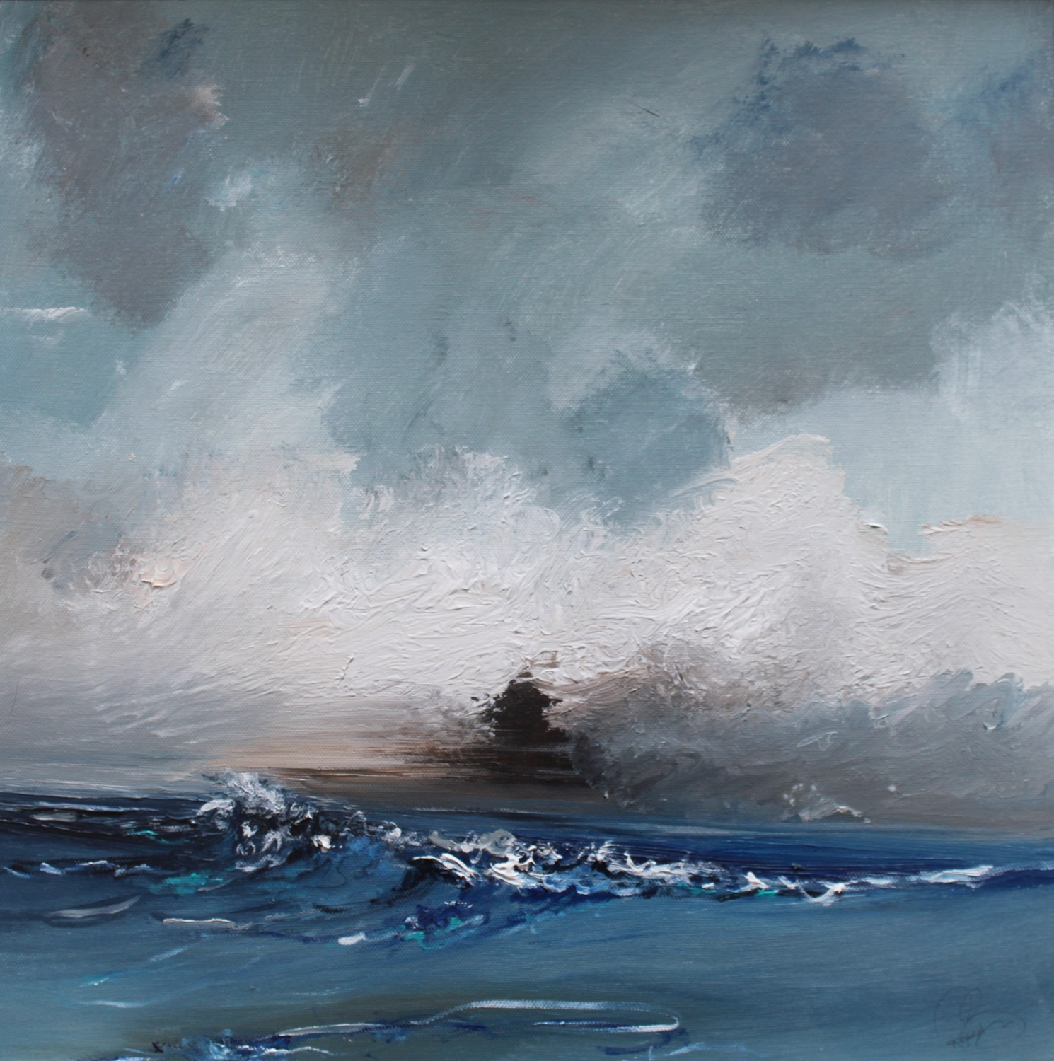 'Out at Sea' by artist Rosanne Barr