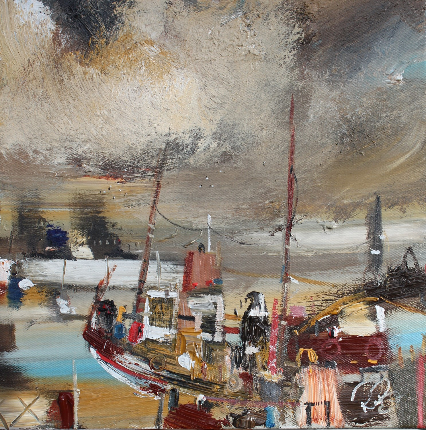 'Catch of The Day' by artist Rosanne Barr