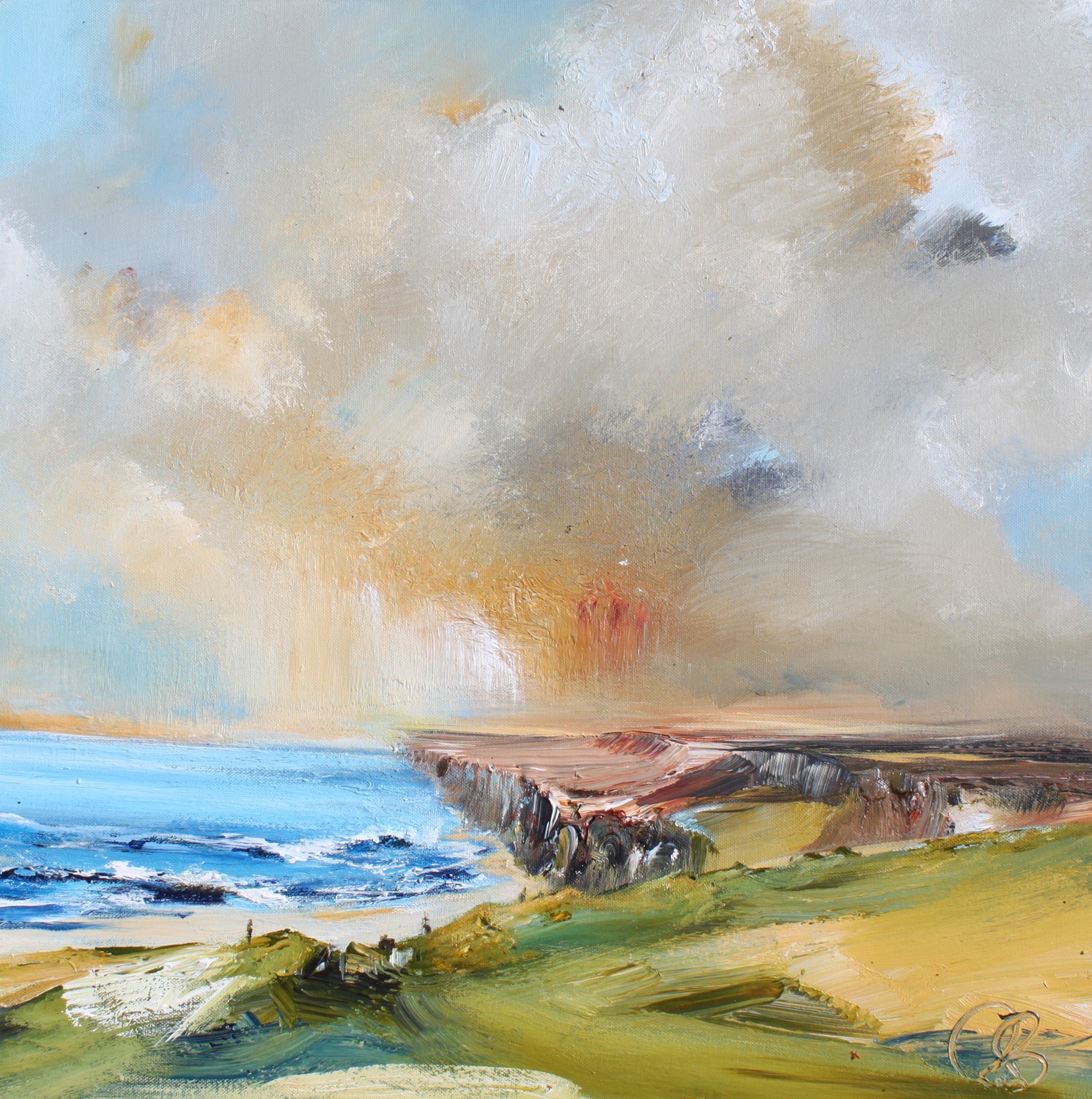 'Looking out to Sea' by artist Rosanne Barr