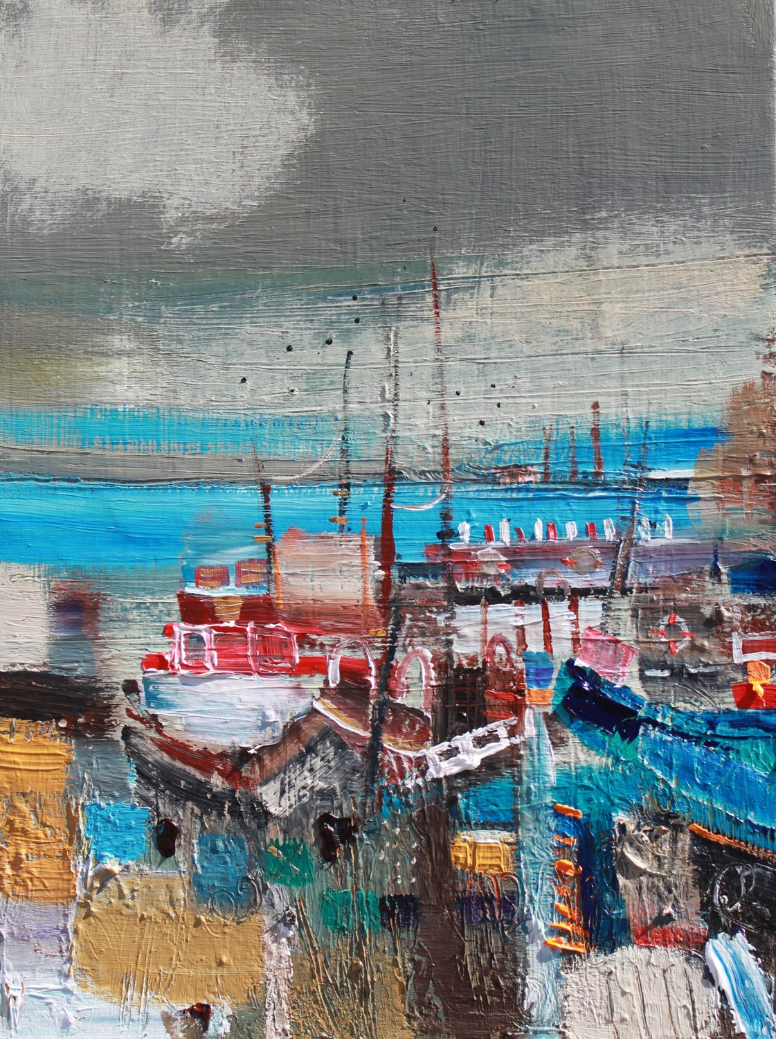 'Bits and Boats' by artist Rosanne Barr