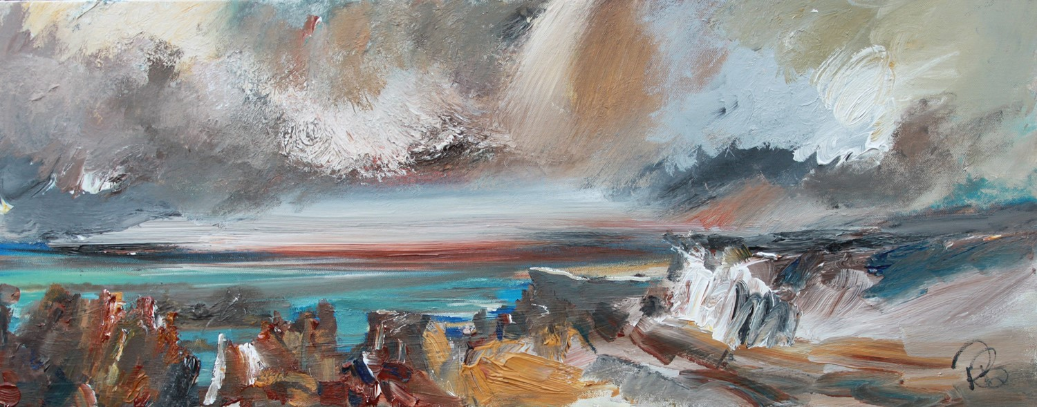 'Brooding Storm' by artist Rosanne Barr