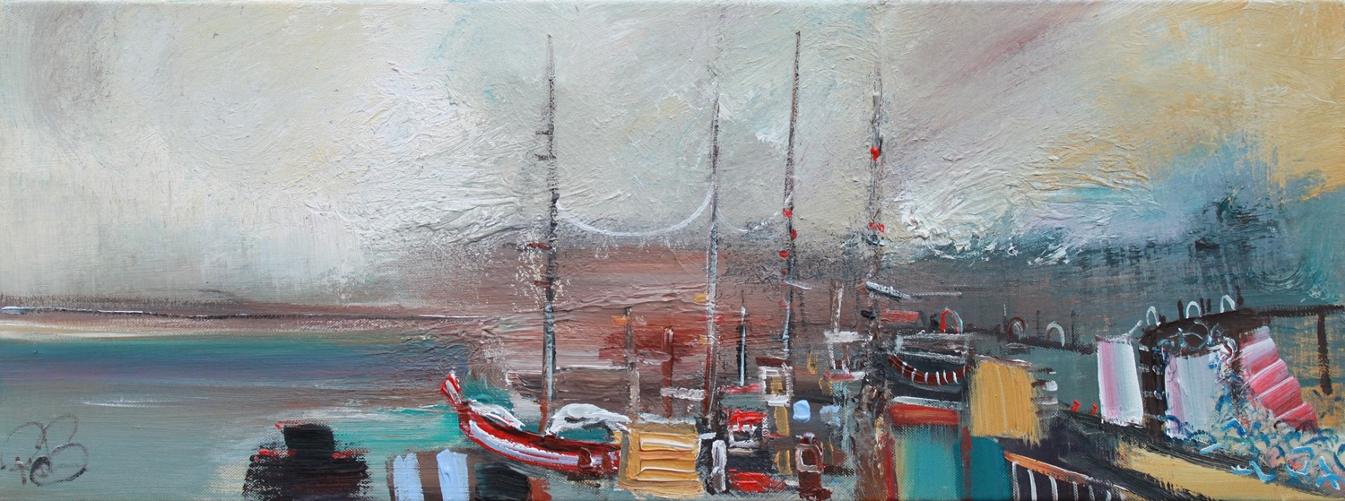 'Winter at Port' by artist Rosanne Barr