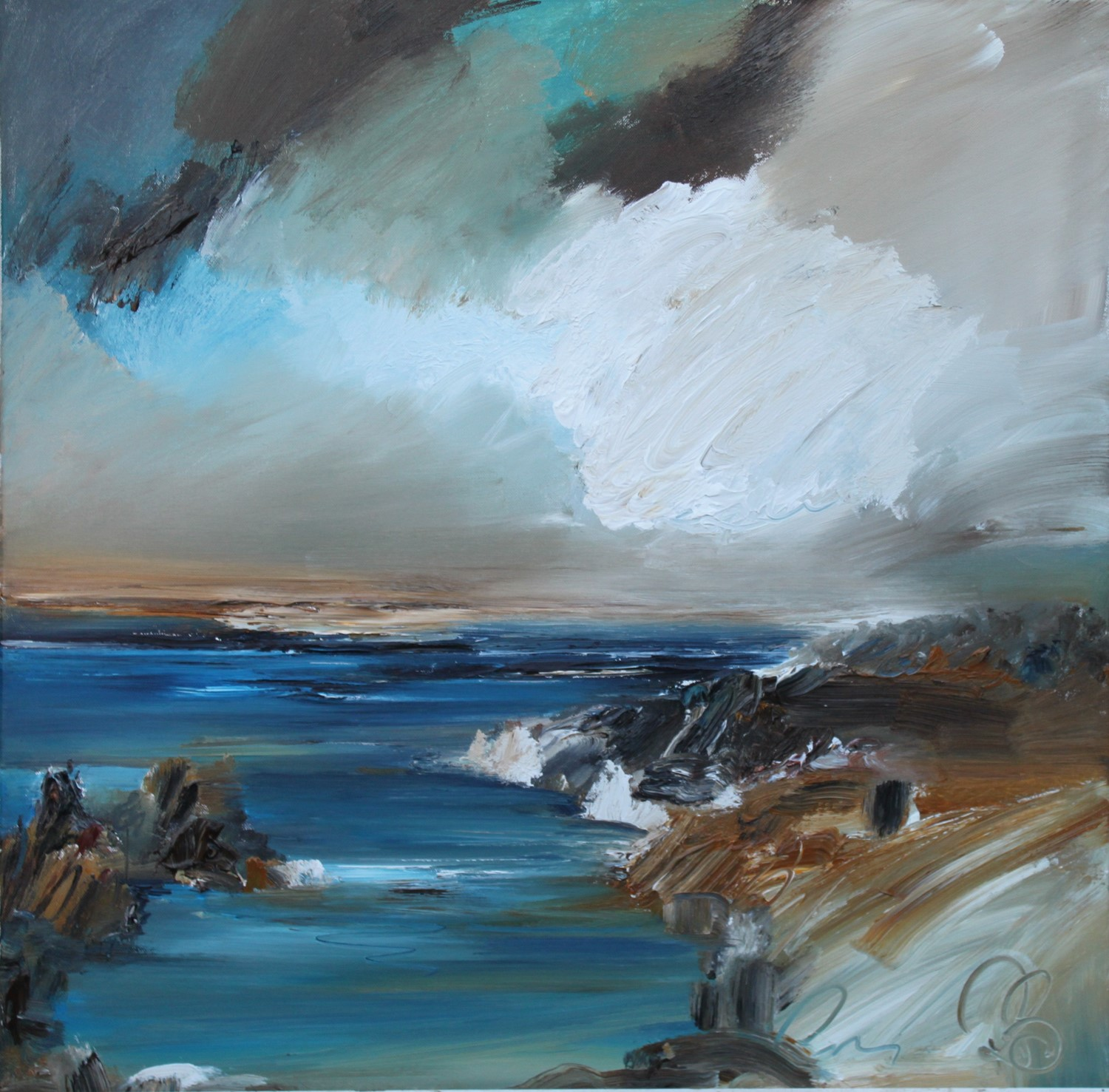 'Finding a cove' by artist Rosanne Barr