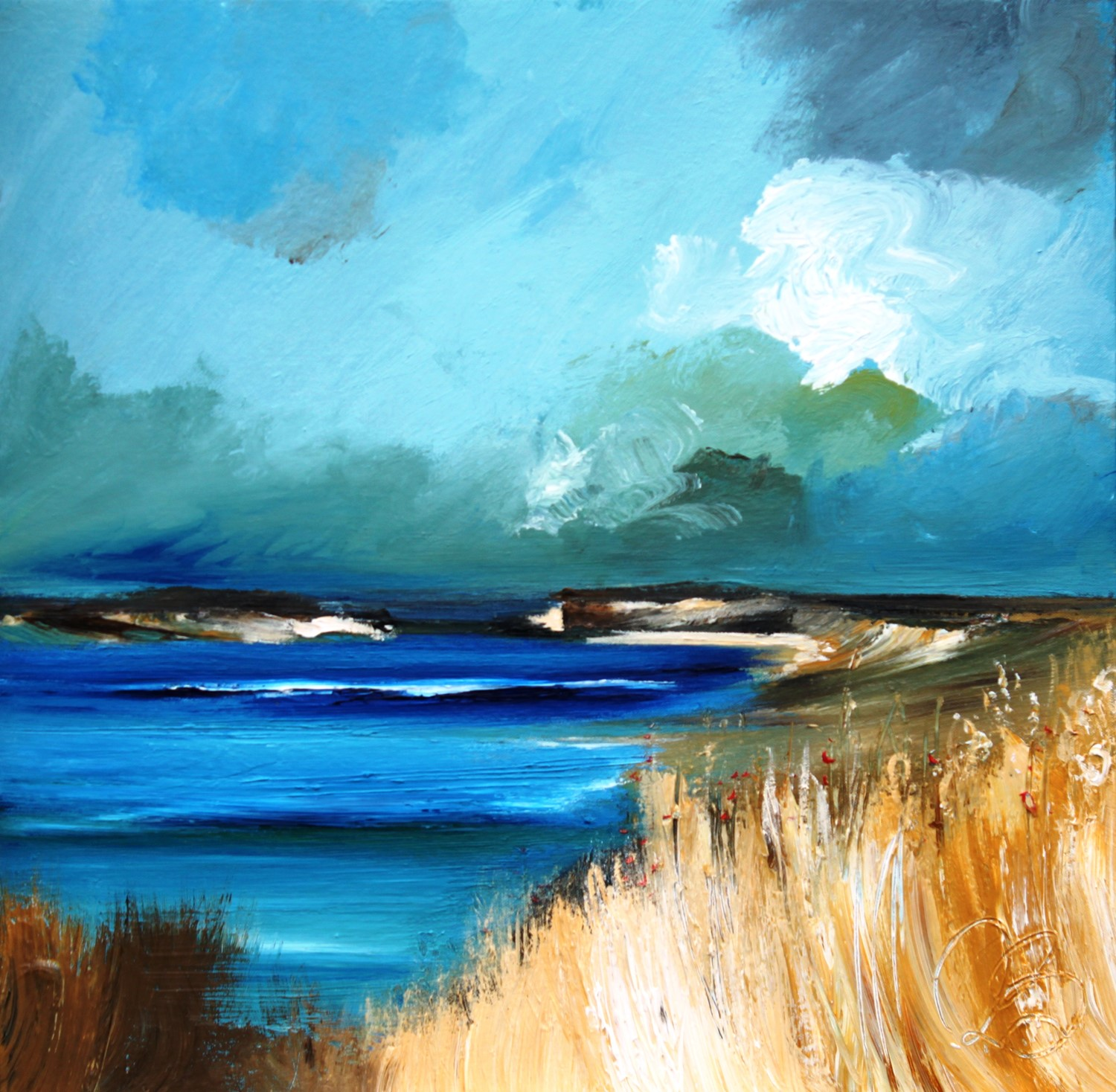 'Blustery Inlet' by artist Rosanne Barr