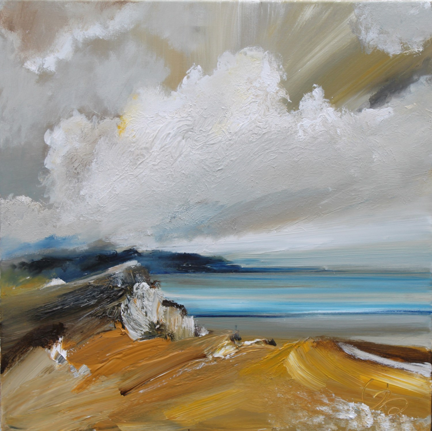 'Western Cliffs' by artist Rosanne Barr