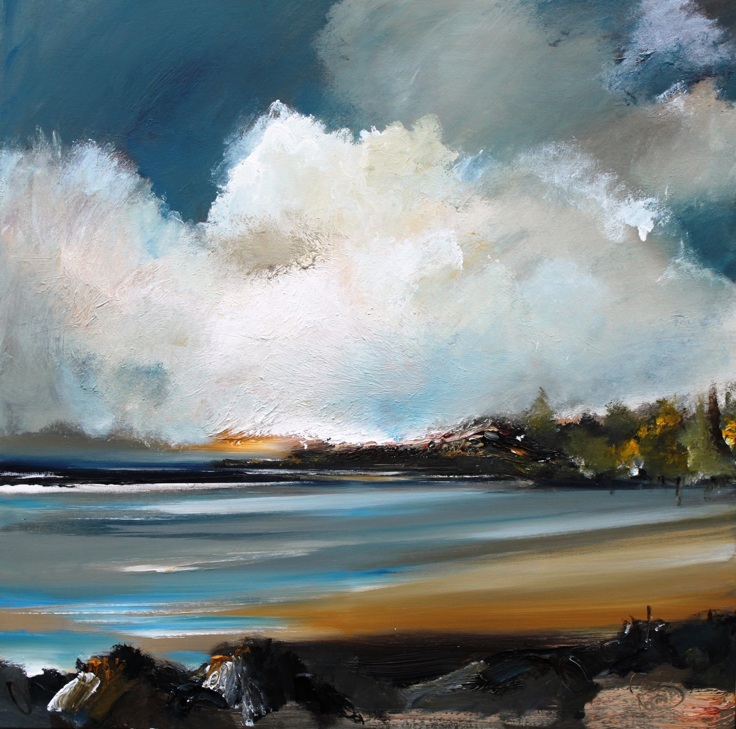 'Woodland Bay' by artist Rosanne Barr