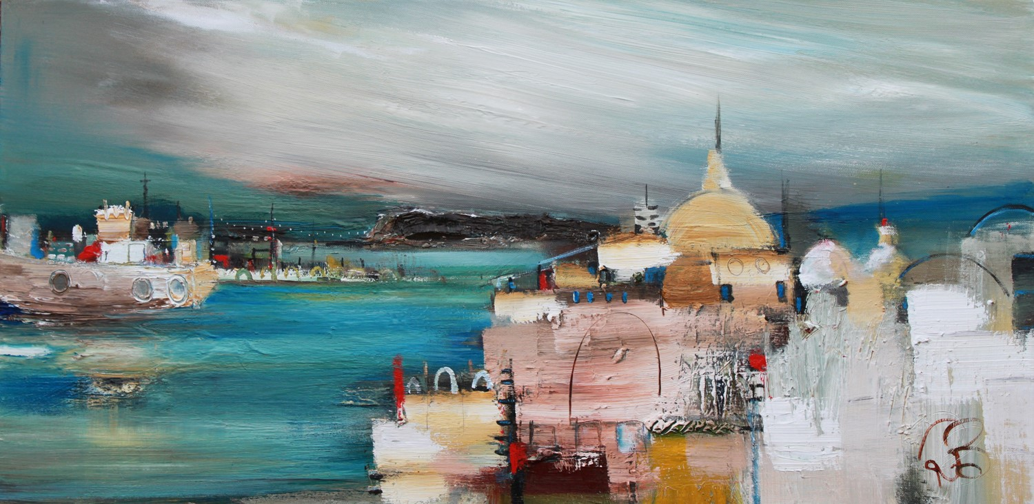 'Exploring the Port' by artist Rosanne Barr
