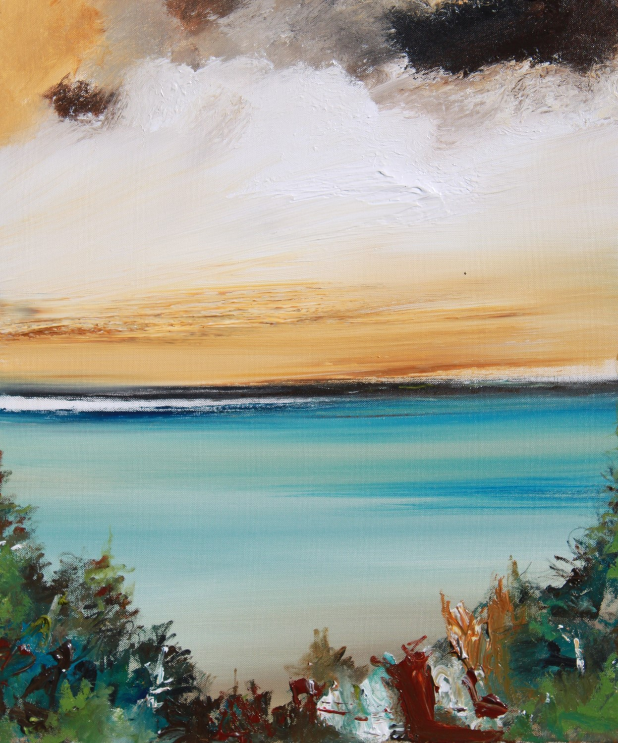 'Calm Outlook' by artist Rosanne Barr