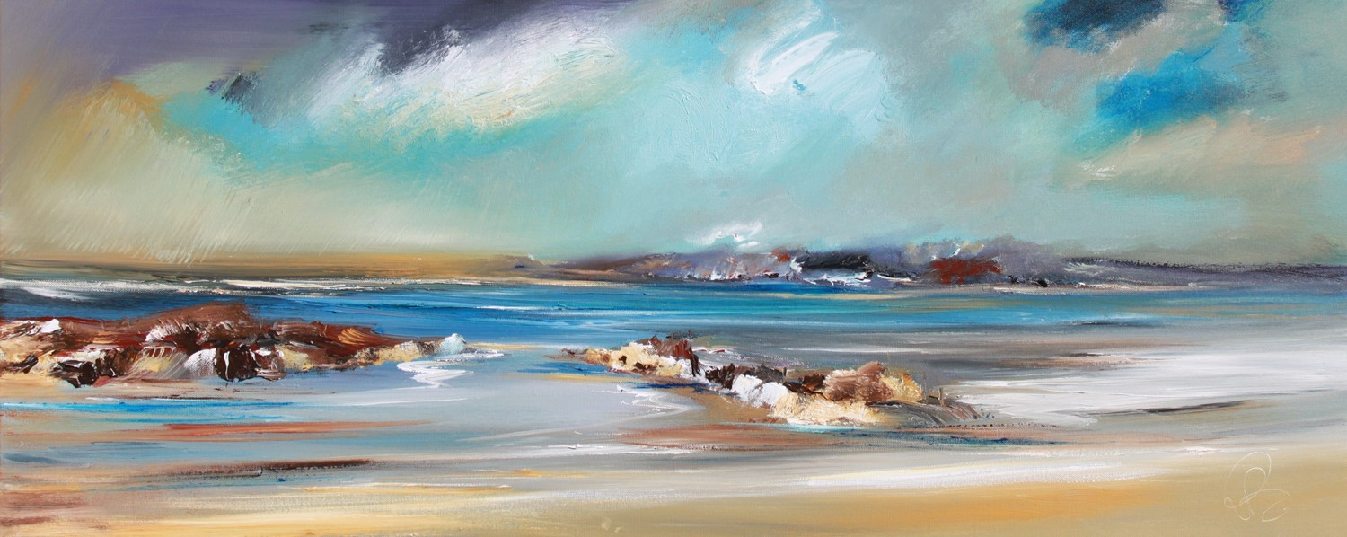 'Slipping through the Isles' by artist Rosanne Barr