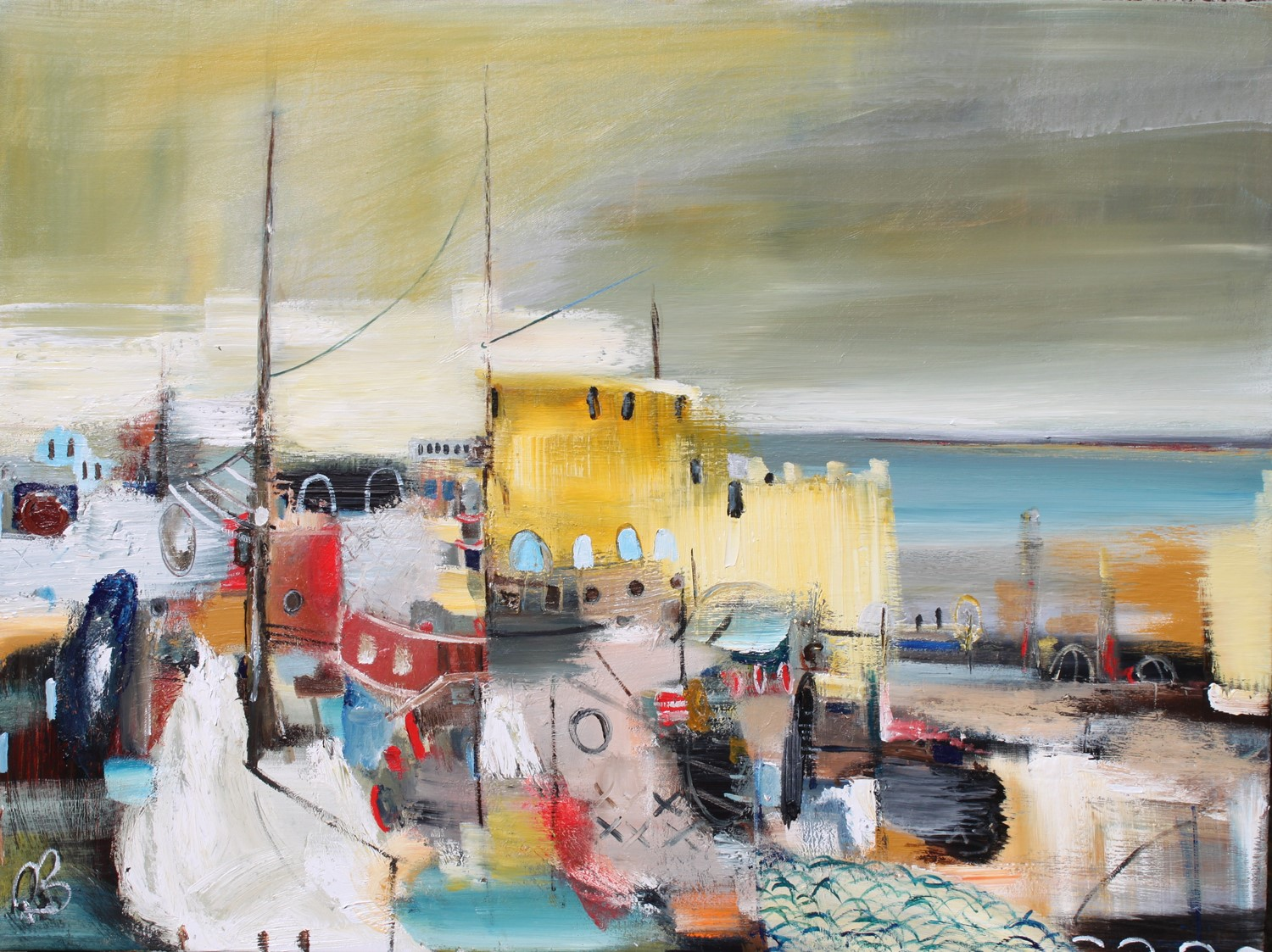 'Coastal Memories' by artist Rosanne Barr