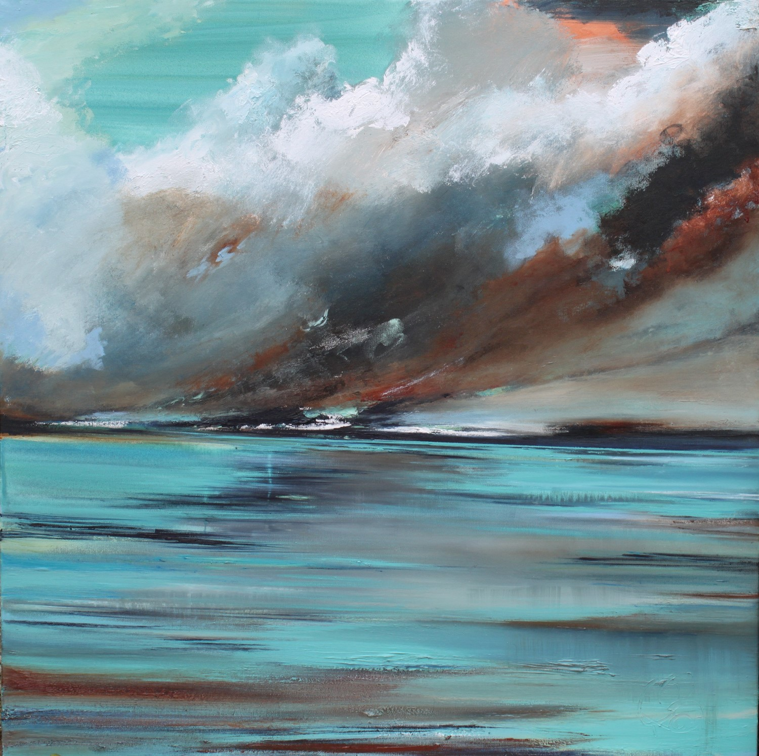 'Patch of Blue' by artist Rosanne Barr