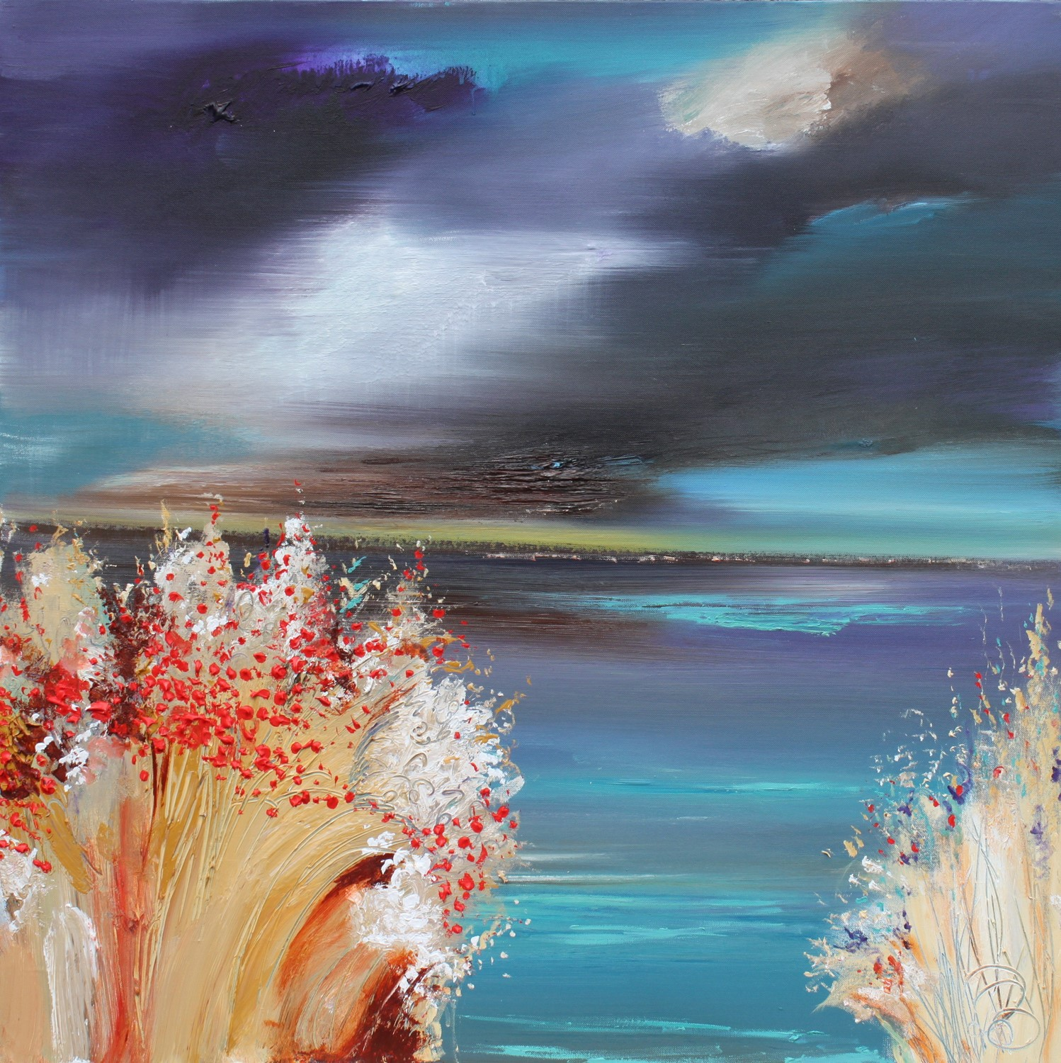 'Heavy Skies' by artist Rosanne Barr