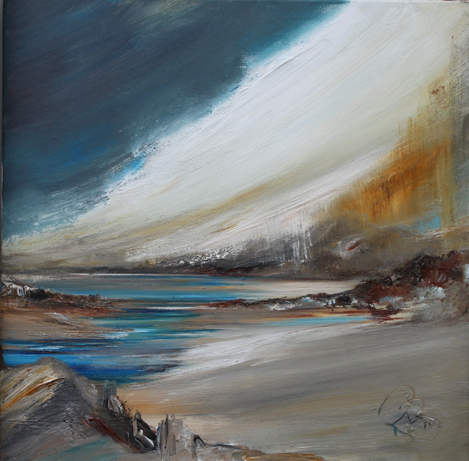 'Sea River' by artist Rosanne Barr