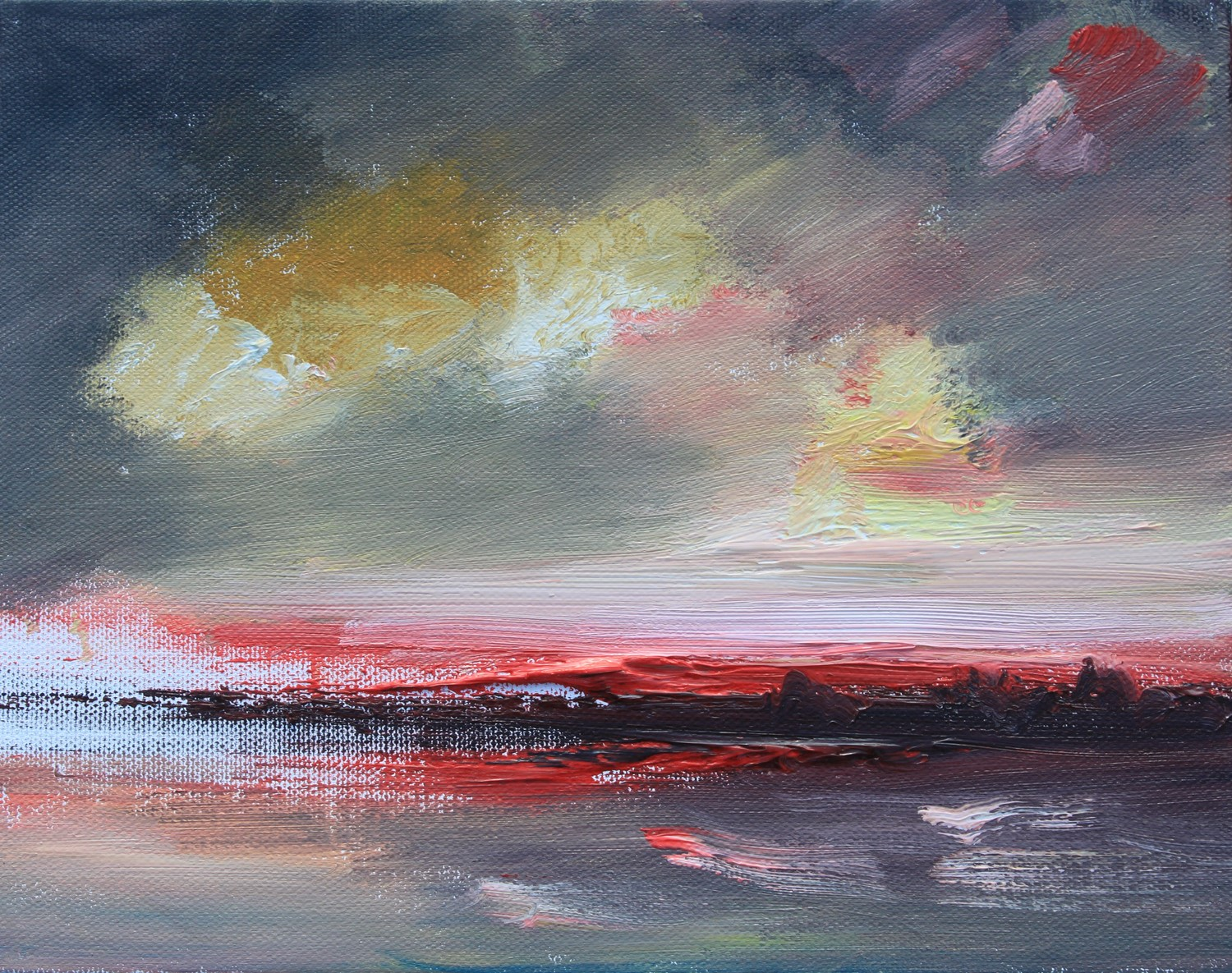 'Sunset Sketch' by artist Rosanne Barr