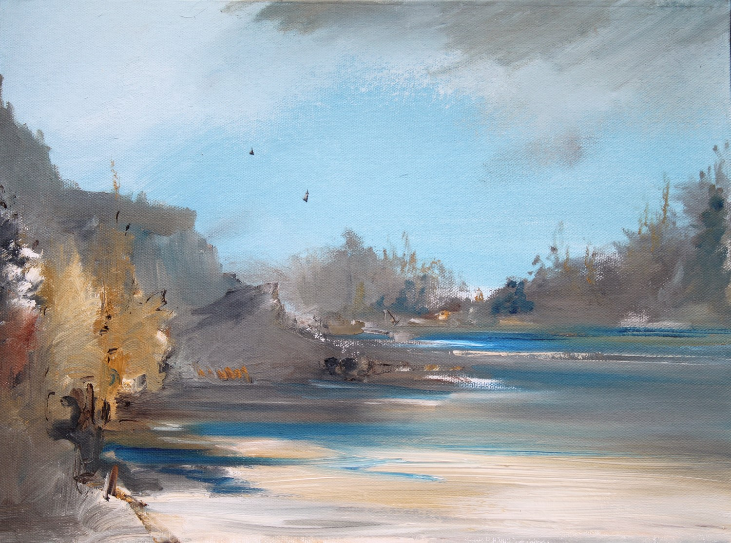'A Little Inlet' by artist Rosanne Barr