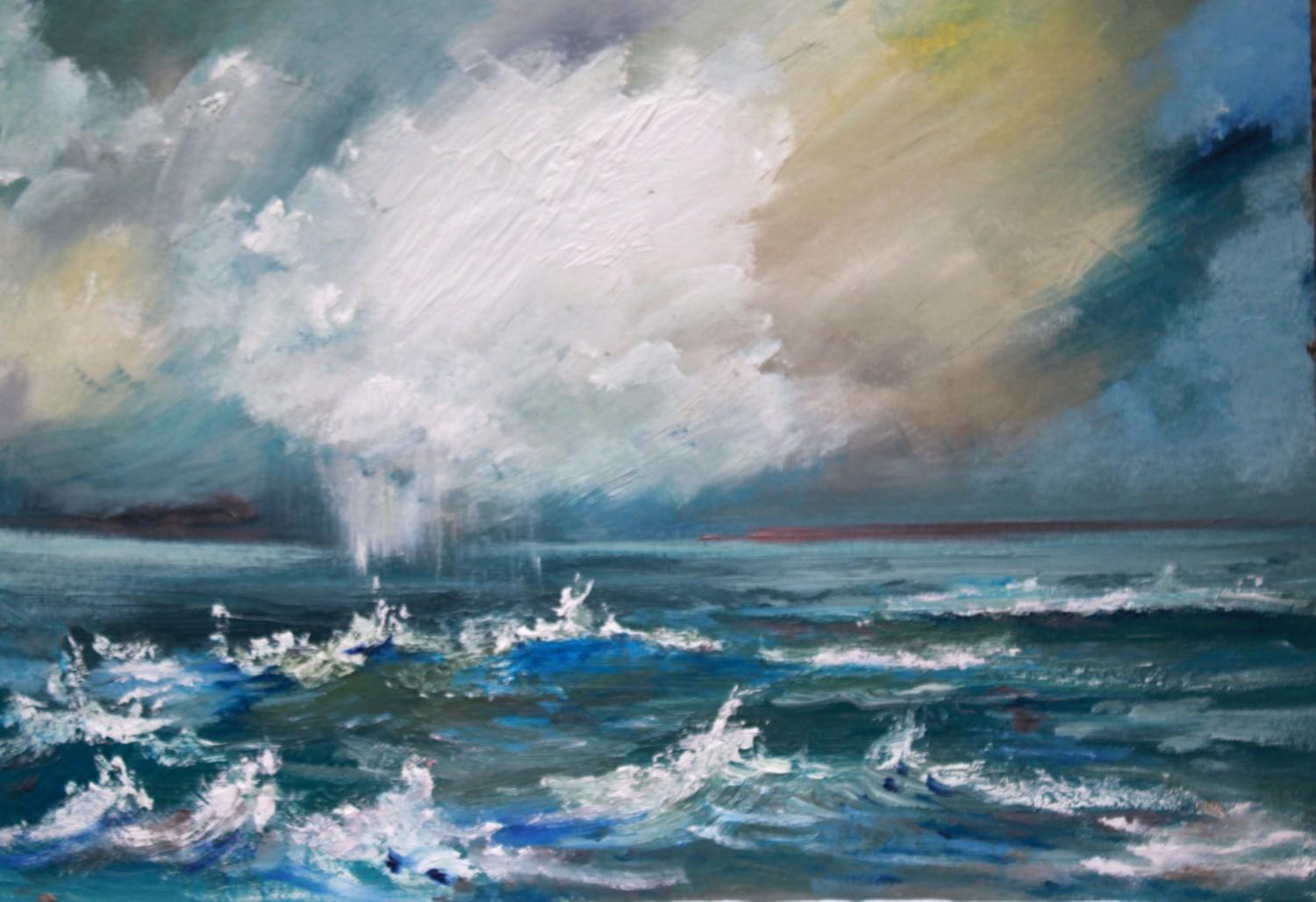 'Blustery Waves' by artist Rosanne Barr