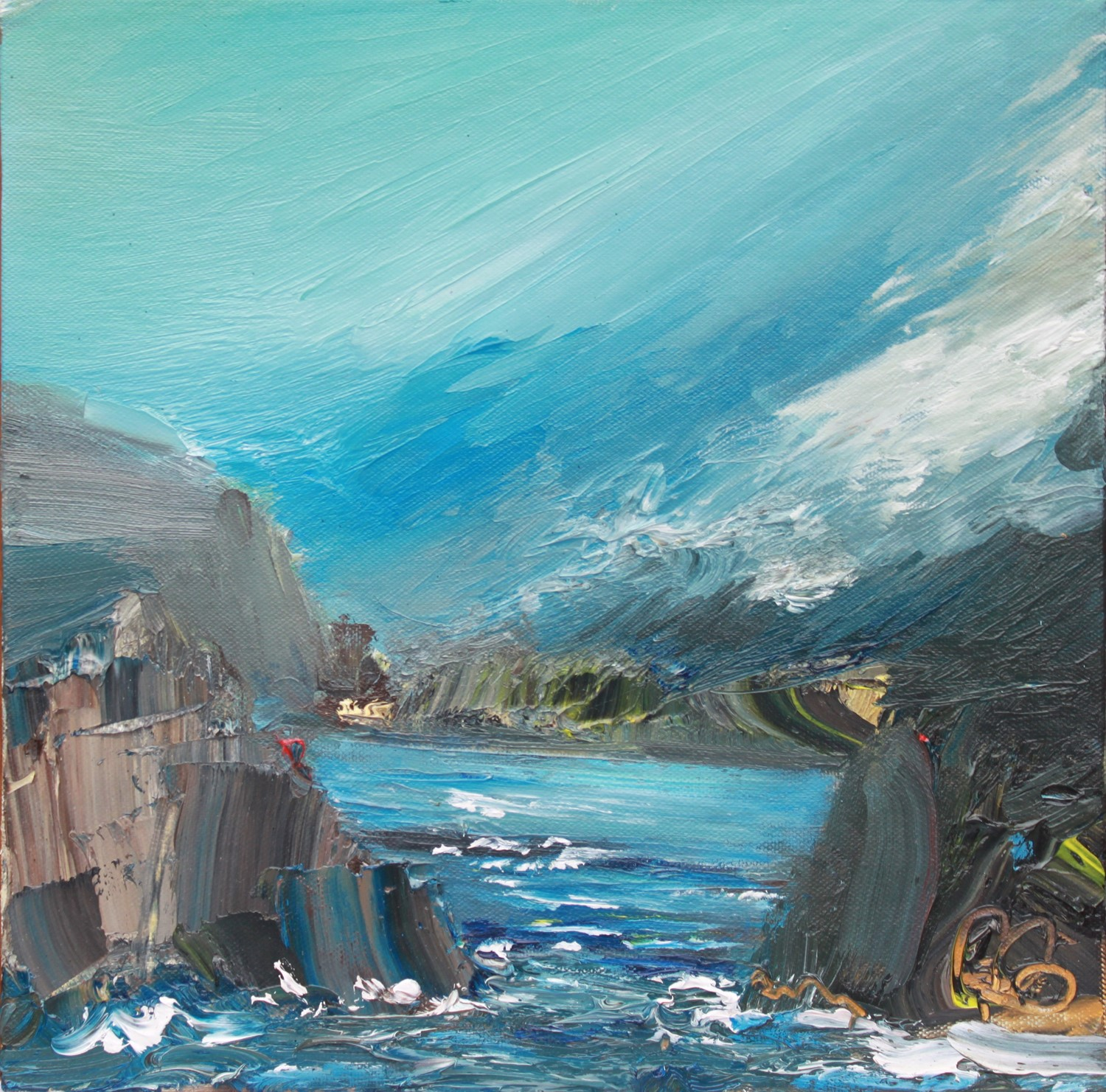 'Passing through the Isles' by artist Rosanne Barr
