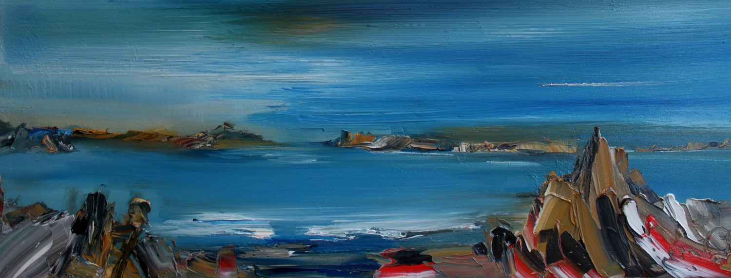 'Distant Isles' by artist Rosanne Barr