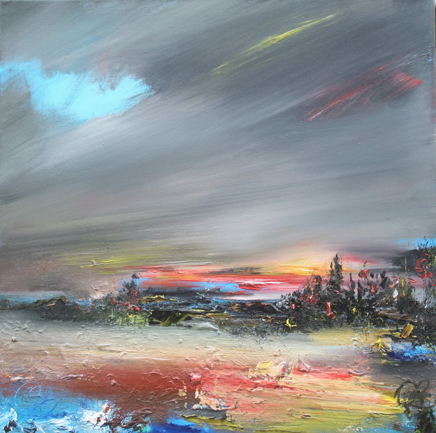 'Night Glow' by artist Rosanne Barr