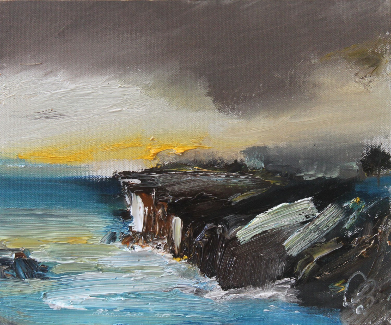 'Simmering Storm' by artist Rosanne Barr