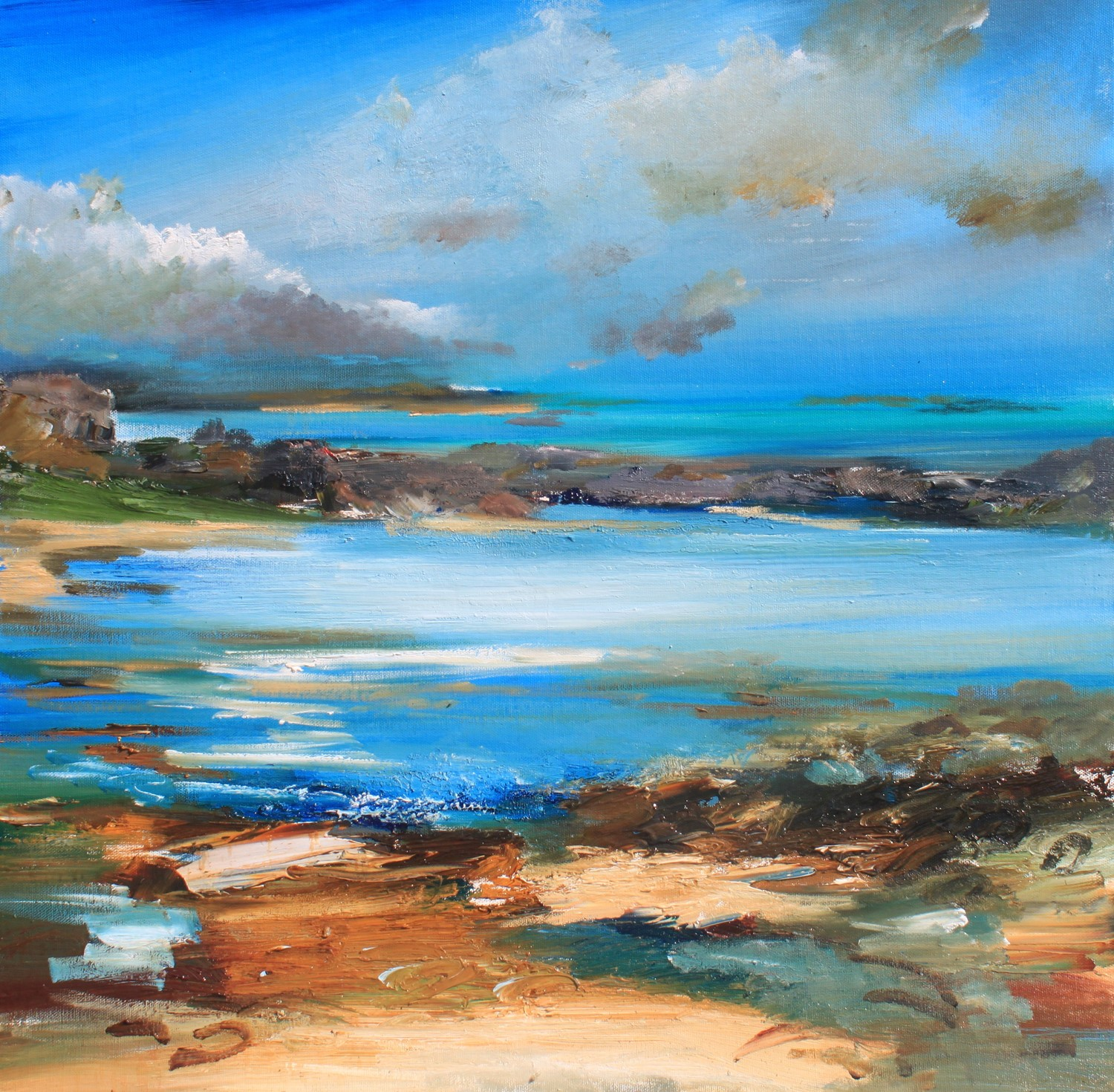 'Rock Pooling Bay' by artist Rosanne Barr