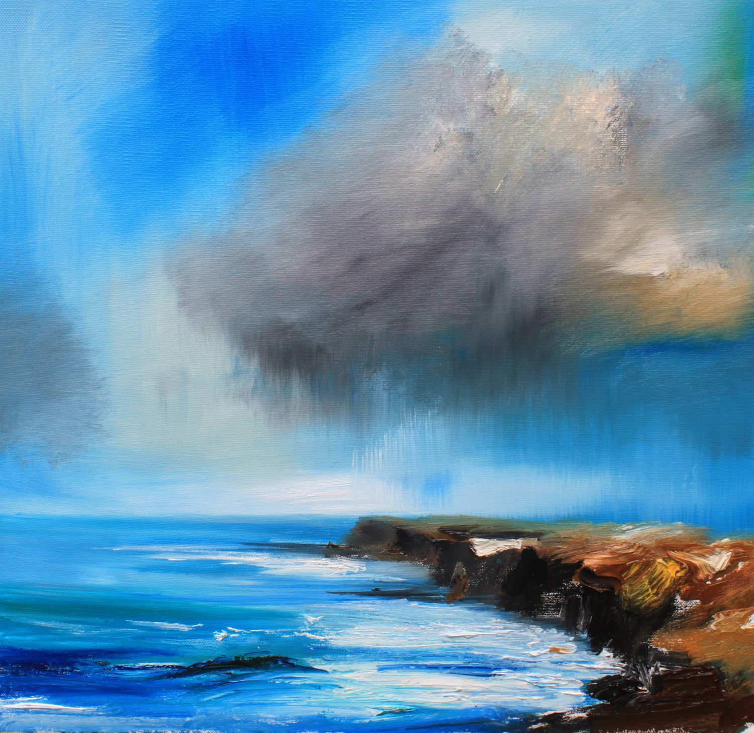 'Sunshine and Showers' by artist Rosanne Barr