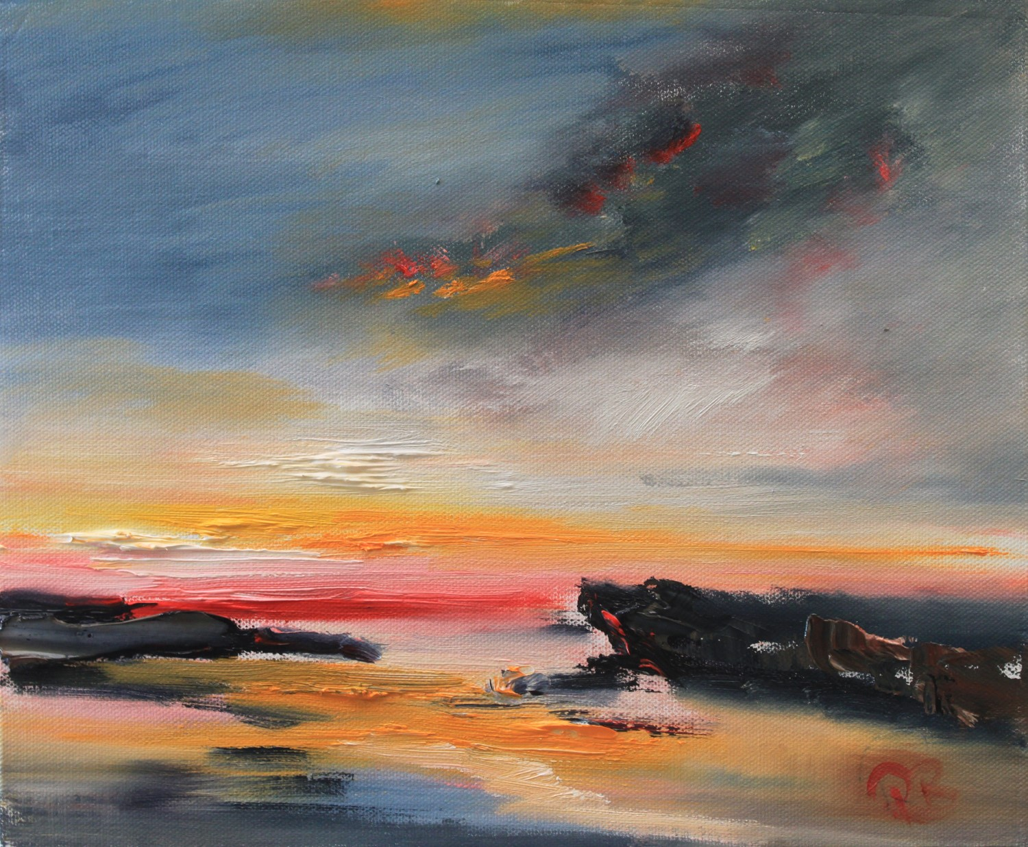 'To the Isles' by artist Rosanne Barr