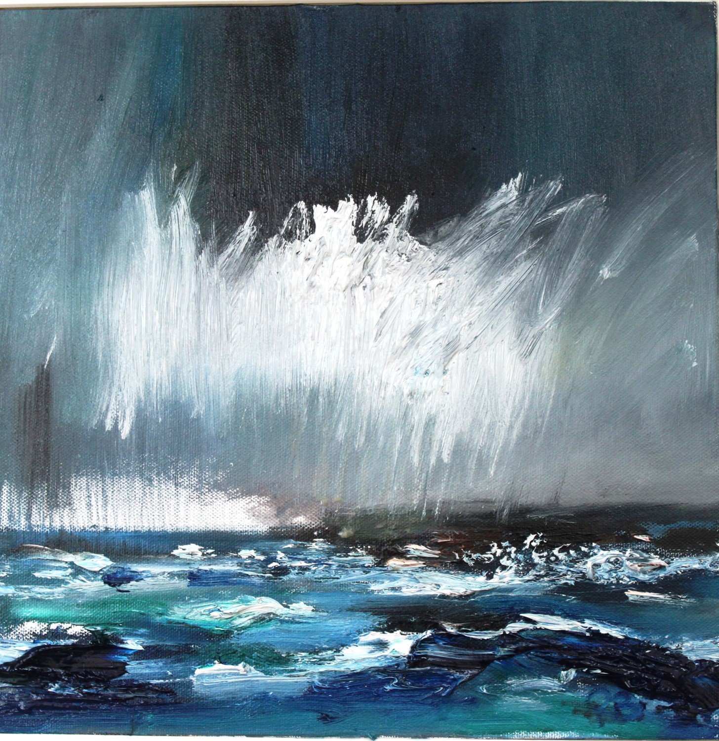 'Storm at Sea' by artist Rosanne Barr
